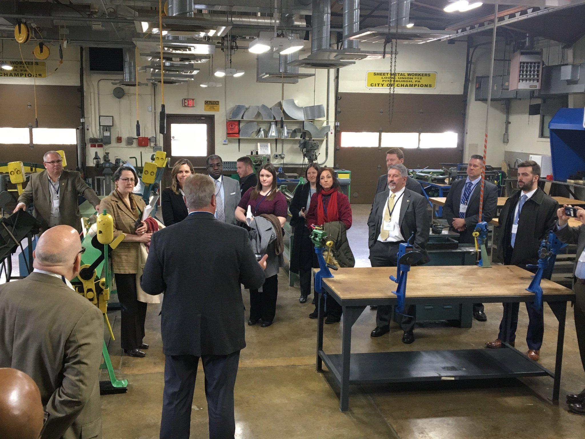 Thanks @L12TC & @smacnawpa for a great tour of #EnergyEfficiency job training to help meet the 7.5% annual job growth of our industry! https://t.co/j3yFjtmrYU