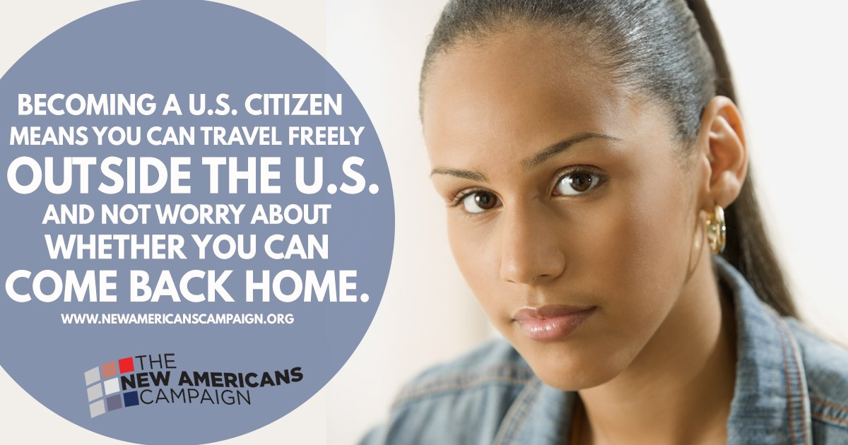 Why become a naturalized citizen? It gives you a chance to travel freely. Learn more at https://t.co/zROLzjZWTQ #NewAmericans https://t.co/bpiX88rb4i