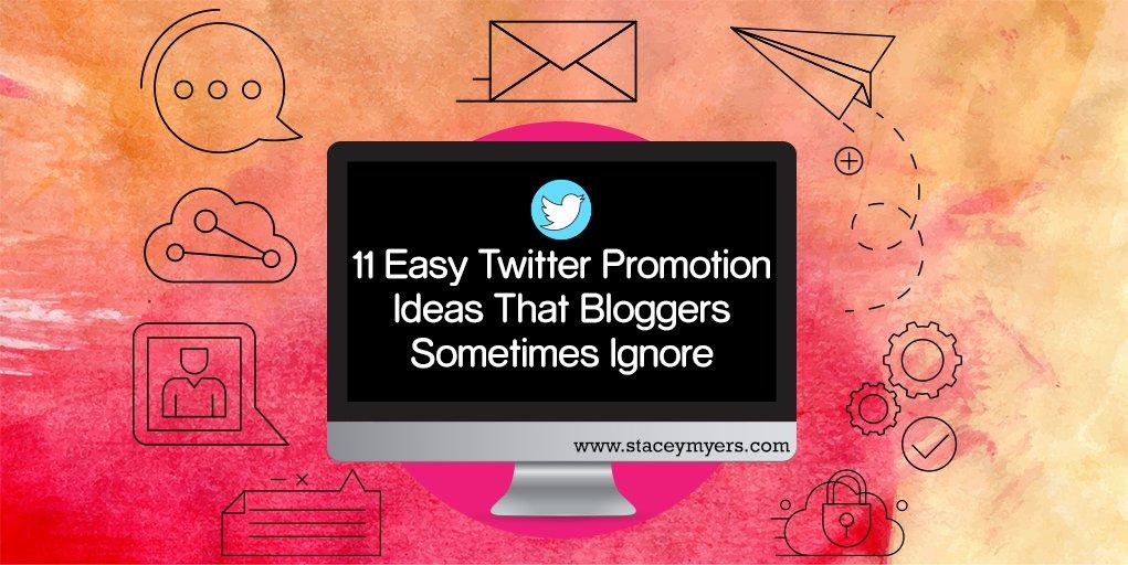 11 Easy Twitter Promotion Ideas Bloggers Sometimes Ignore https://t.co/DEWhdskC6l #twittertraining #twittertips https://t.co/xVUs6eJoWX