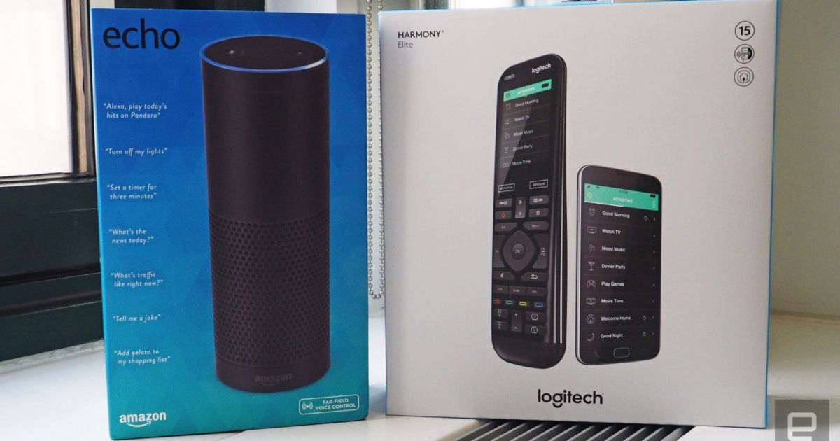 Engadget giveaway: Win a Harmony Elite and Amazon Echo courtesy of Logitech!