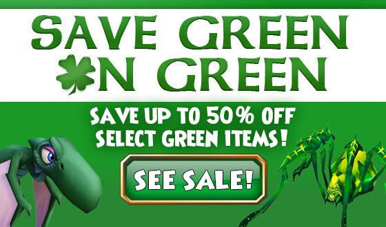 Wizard101 On Twitter Now Thru 319 Save Up To 50 Off Select Green