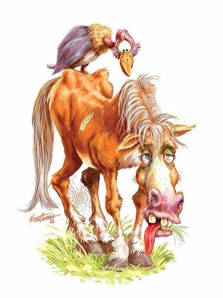 Картинки мама работает как лошадь