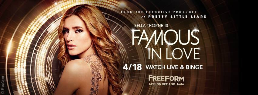 Get your Binge on!! @FreeformTV Staring @bellathorne and bunch of other young sexy ass people! Oh, I'm in it too ;) https://t.co/ZDk0NPfiM2