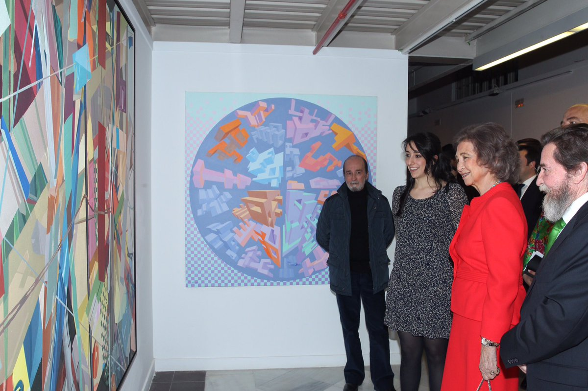 Fin de la entrega del 52 Premio Reina Sofía de Pintura y Escultura https://t.co/IlX8Pss5s4