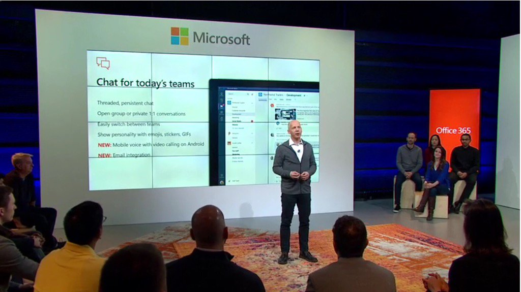 #MicrosoftTeams is chat based team workspace.  #socbiz #futureofwork @Office365 https://t.co/LS0XHdK9E7