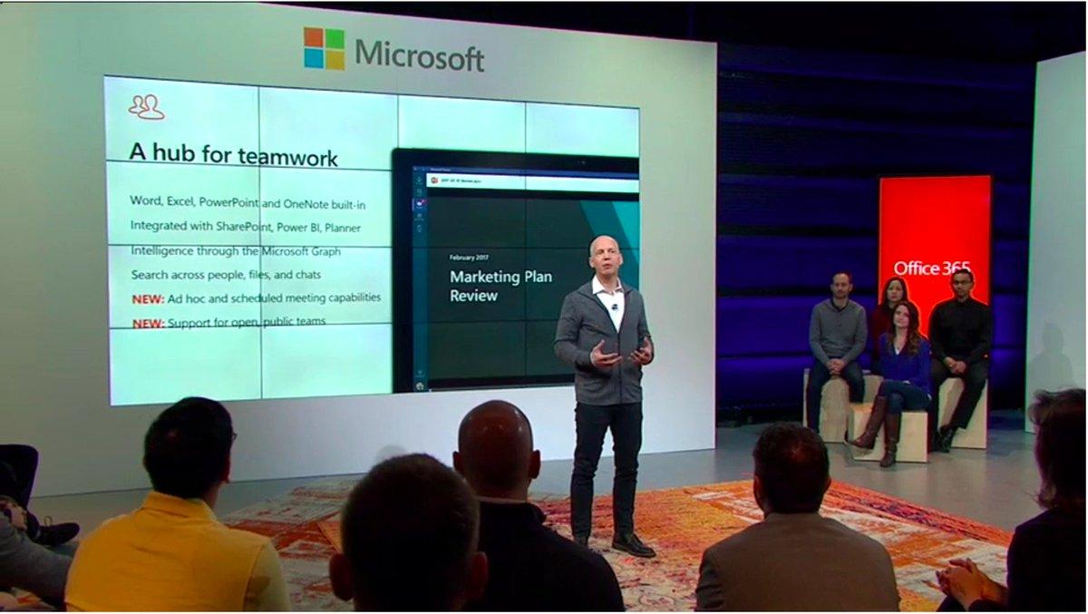 Nice photobomb @bryanmgoode  ;-) #MicrosoftTeams https://t.co/9l8quMBMPQ