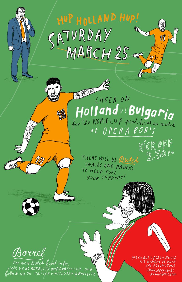 Holland-Bulgaria World Cup Qualifier @ Opera Bob's