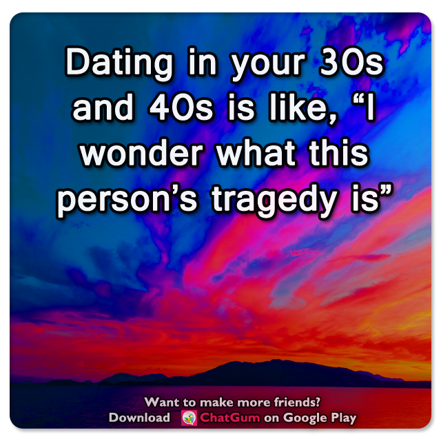 Dating in your 30s and 40s