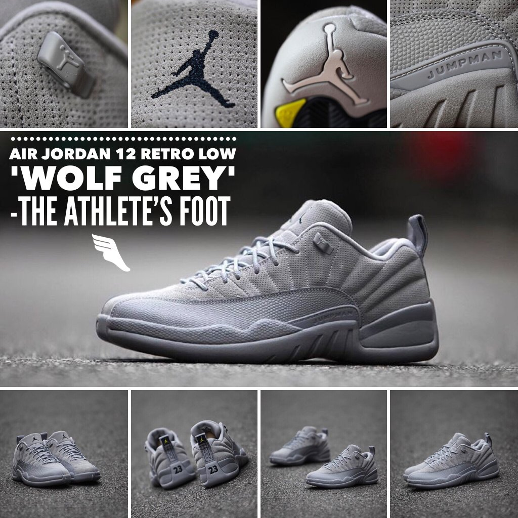 a1f00a27a75b3e ... canada air jordan xii 12 cool grey renarts 6 24 2016 the athletes foot  nc on