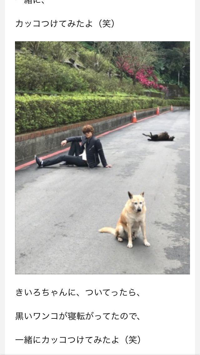 宮野真守のセンス絶妙すぎるwww犬と一緒可愛すぎるwww