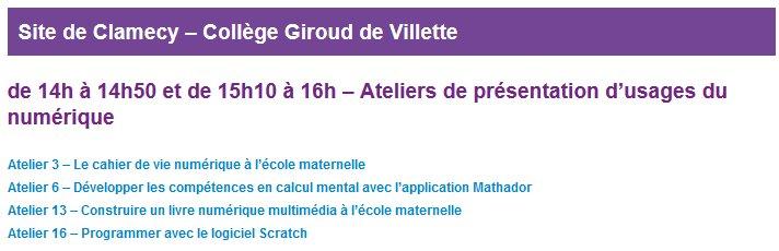 #U2N les ateliers commencent bientôt au collège Giroud de Villette @reseau_canope @canope_58 @dsden58 @dane_dijon https://t.co/mGZTnlNzjh