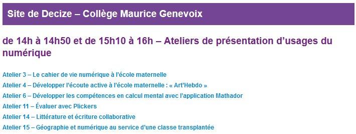 #U2N les ateliers commencent au collège Maurice Genevoix de Decize @dsden58 @canope_58 @reseau_canope @dane_dijon https://t.co/XsWvHIULdV
