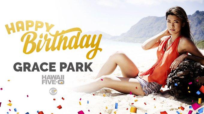 To wish Grace Park a very Happy Birthday!