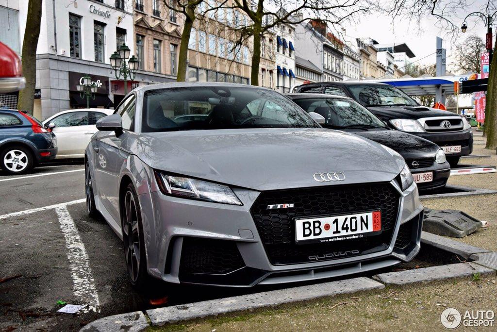 Audi Daily On Twitter Nardo Grey 2017 Audi Tt Rs