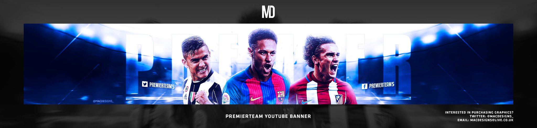 George On Twitter Youtube Banner For Premierteam All Feedback And