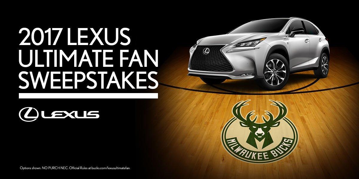 Lexus Of Milwaukee >> Milwaukee Bucks On Twitter Win A Lexus Getaway To Chicago