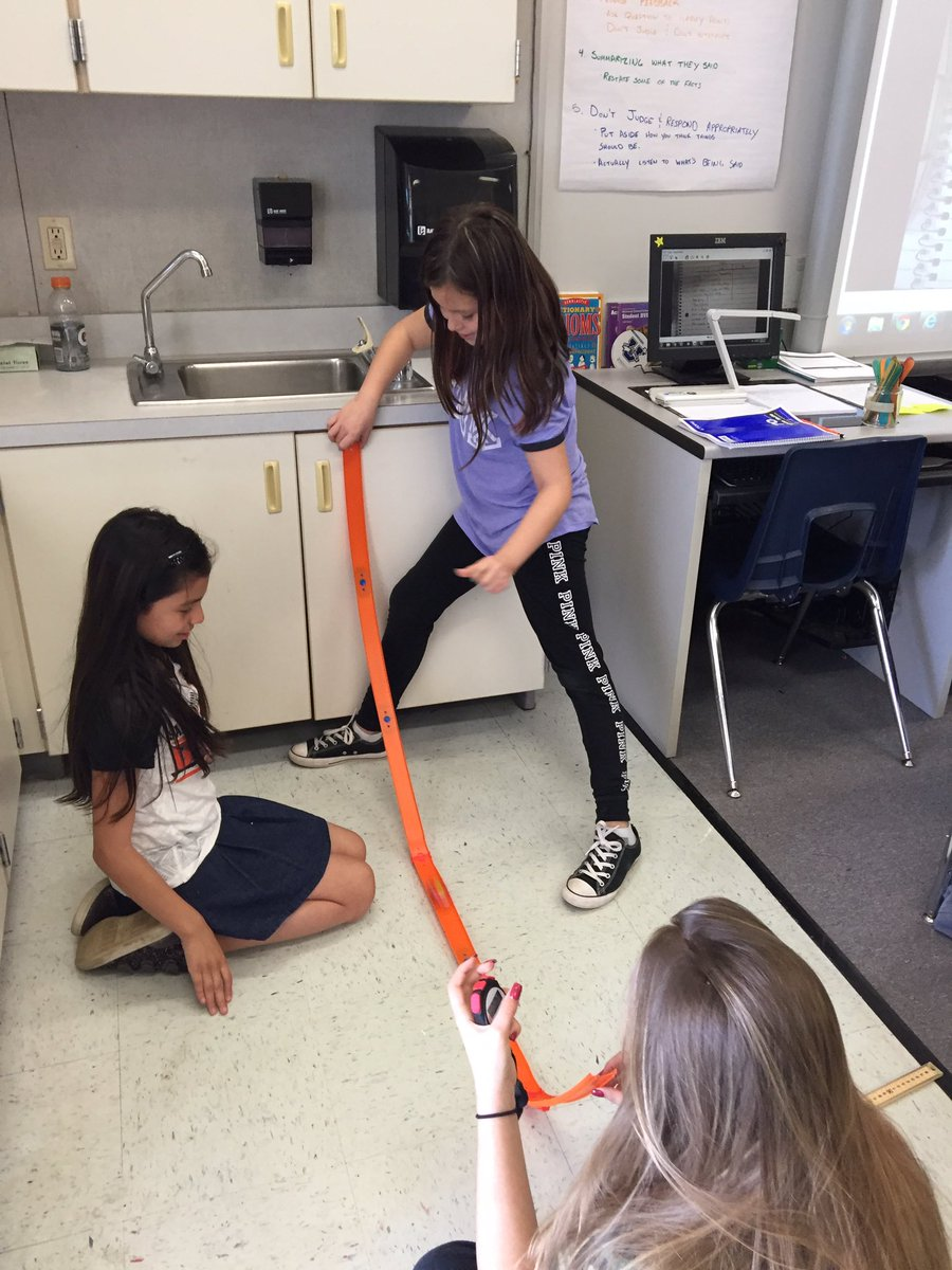 Juniper 5th gr Ss learning about calculating speed.  #excellenceforall