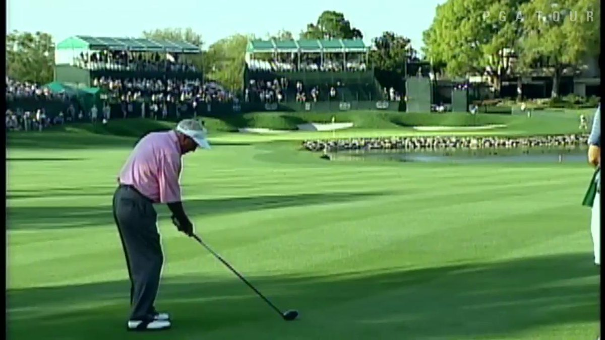 13 years ago, Arnold Palmer capped his PGA Tour career with this incredible driver off the deck