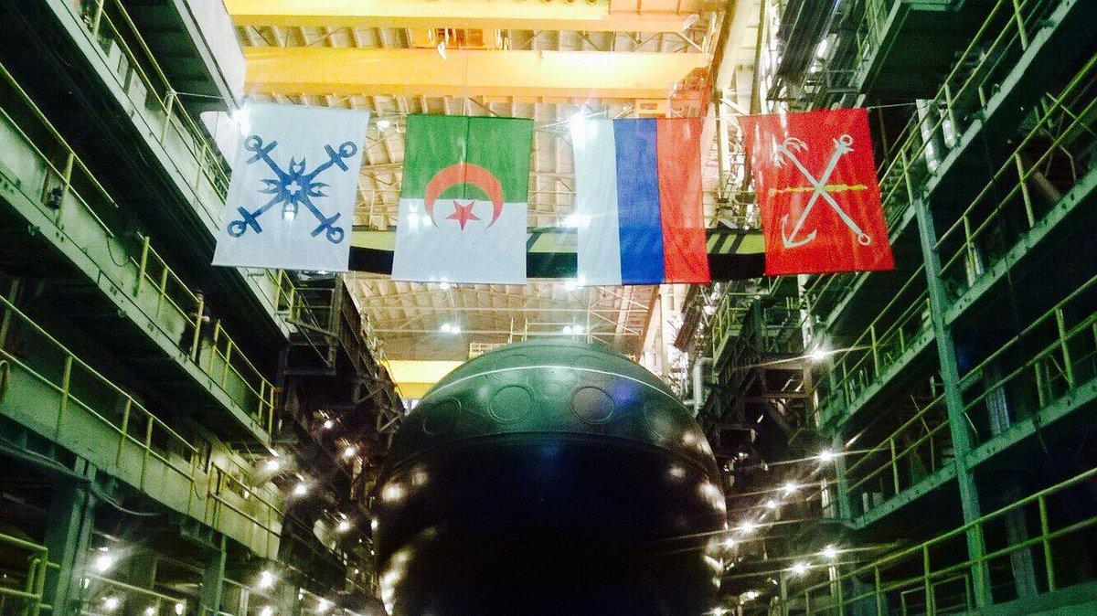 алжир подводная лодка
