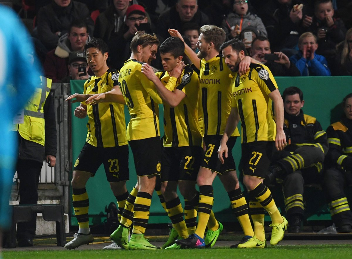 Video: Sportfreunde Lotte vs Borussia Dortmund