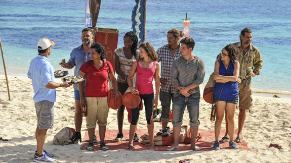 A sudden tribe swap shakes things up early on #SurvivorGameChangers: h...