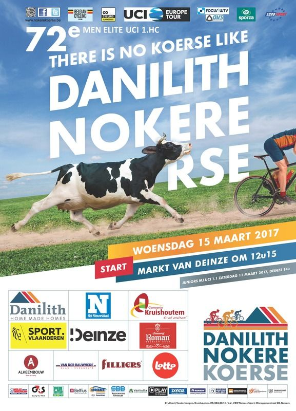 LIve today around 15:00 CET: Nokere Koerse. Check our site for video feeds #nokere #procycling https://t.co/gSNuKp3lMt