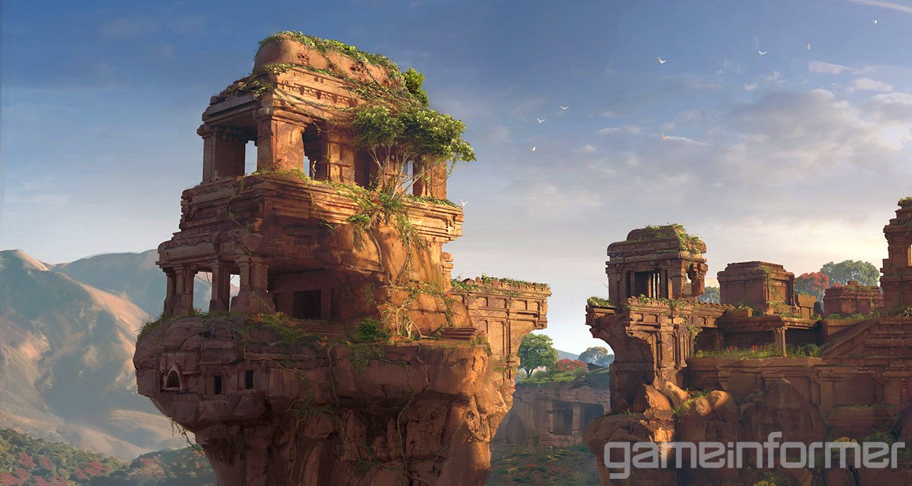 Uncharted: The Lost Legacy Concept Art Revealed
