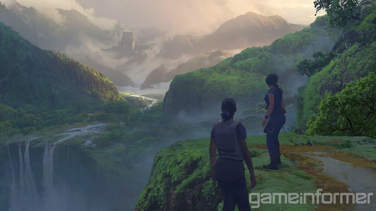 Uncharted: The Lost Legacy Concept Art
