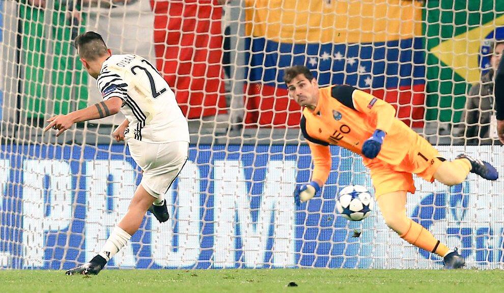 Juventus-Porto Diretta Live: 1-0 gol su rigore di Dybala, espulso Pereira