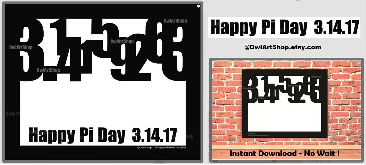 Owl Artshop On Twitter Pi Symbol Math Poster Pi Day 3142017