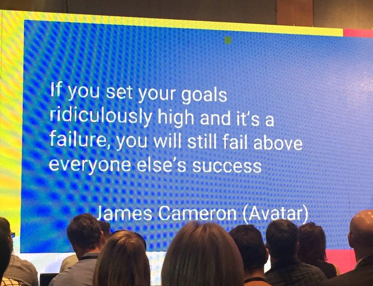 Set your goals ridiculously high! - @loic #BBDSummit https://t.co/FSdUerwupi