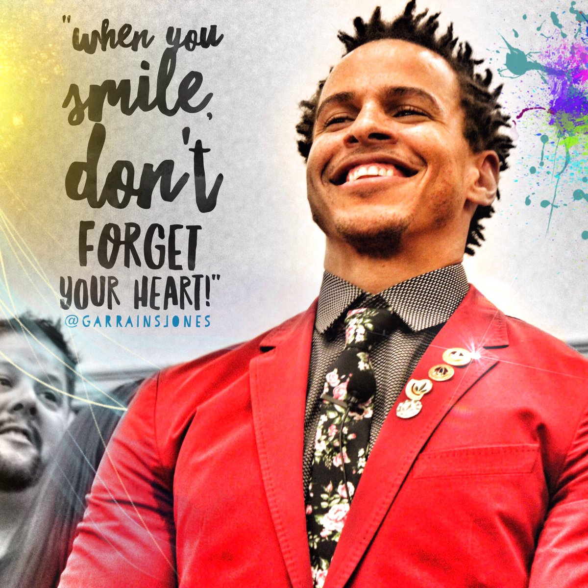 """When you smile, don't forget your heart"" https://t.co/xsAipIZ82g"
