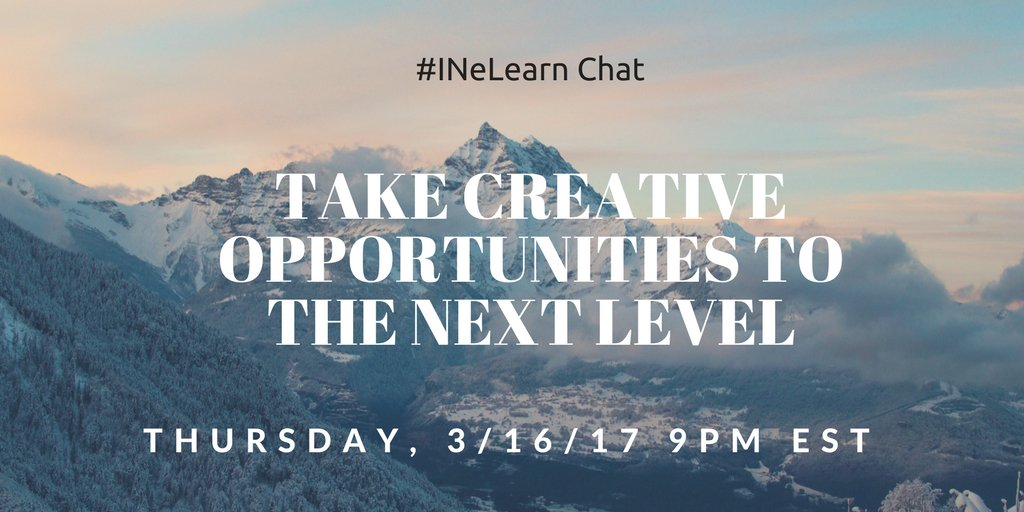 Thumbnail for #INeLearn Chat 3/16/17