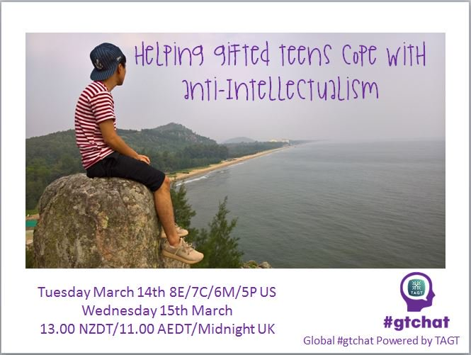 Thumbnail for #gtchat: Helping Gifted Teens Cope with Anti-Intellectualism