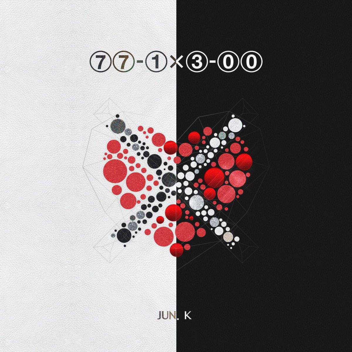 本日 3/15(水) Jun. K (From 2PM) 『77-1X3-00 -japan edition-』の発売日!Jun. Kの世界が詰まった一枚をぜひチェックしてください♪ 2pmjapan.com/disco/ #Jun_K #77_1X3_00
