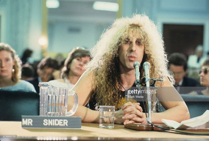 Happy Birthday to Dee Snider, who turns 62 today!