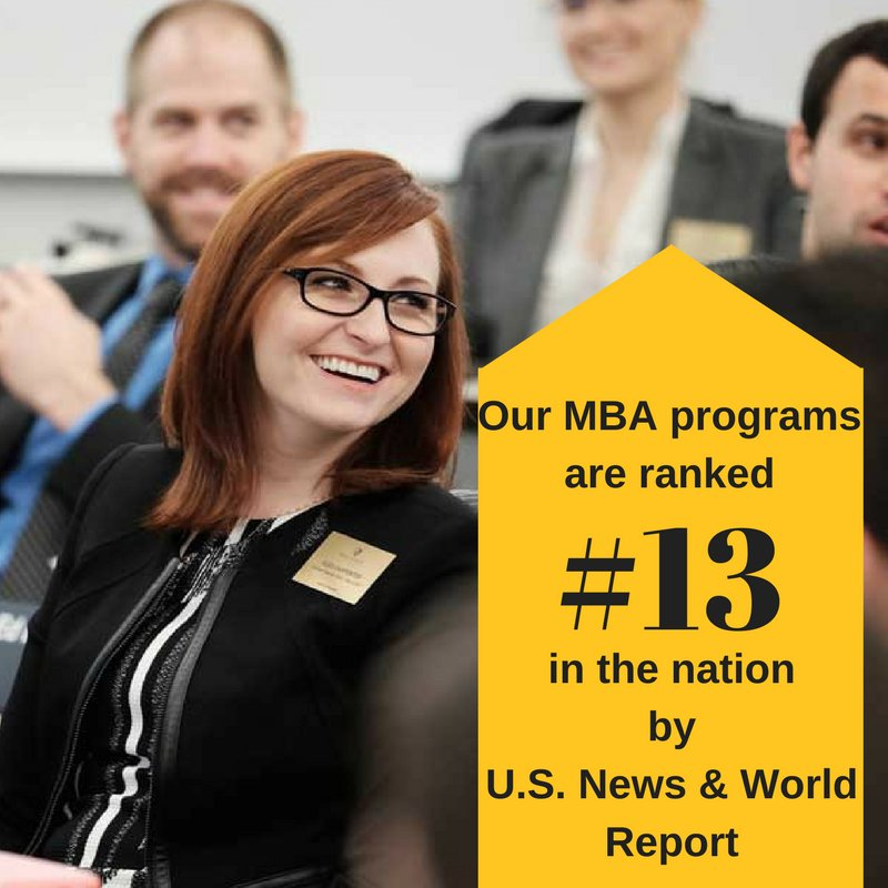News about our #13 MBA ranking by @USNewsEducation  on   @YahooFinance  https://t.co/KozAWxssz2 #bestgradschools #godeacs