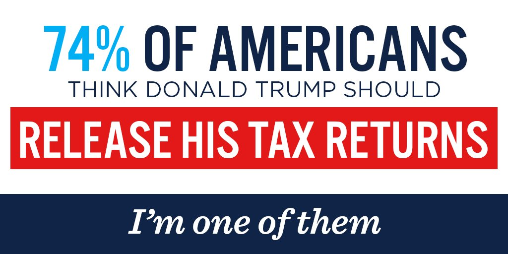What is stopping Donald Trump from releasing all his taxes? RT if you want to see them now. https://t.co/CsvALxRcJN
