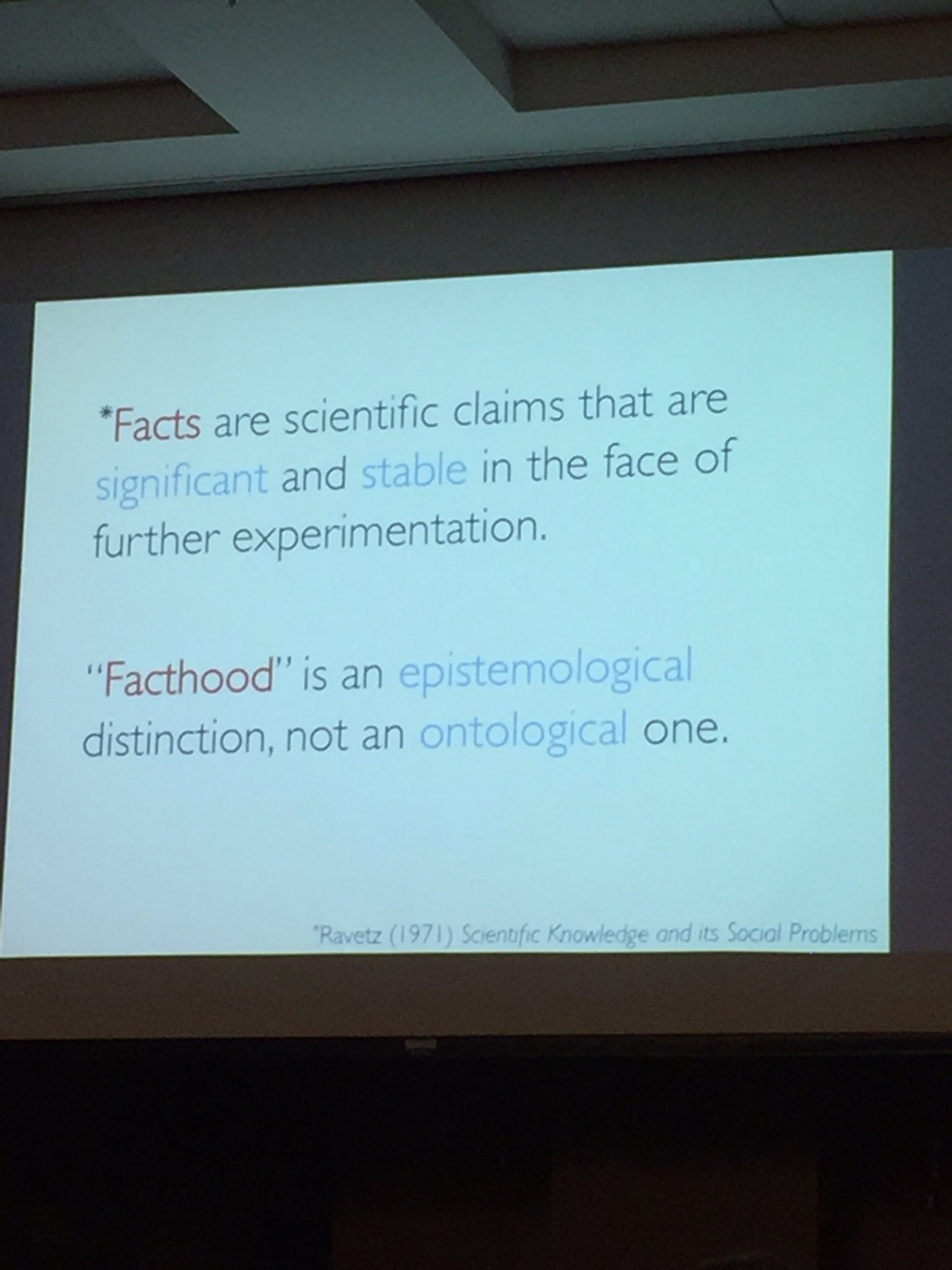 #FactsAreReal #CallingBS from Carl Bergstrom of UW @nswa https://t.co/sBTGWc65wS