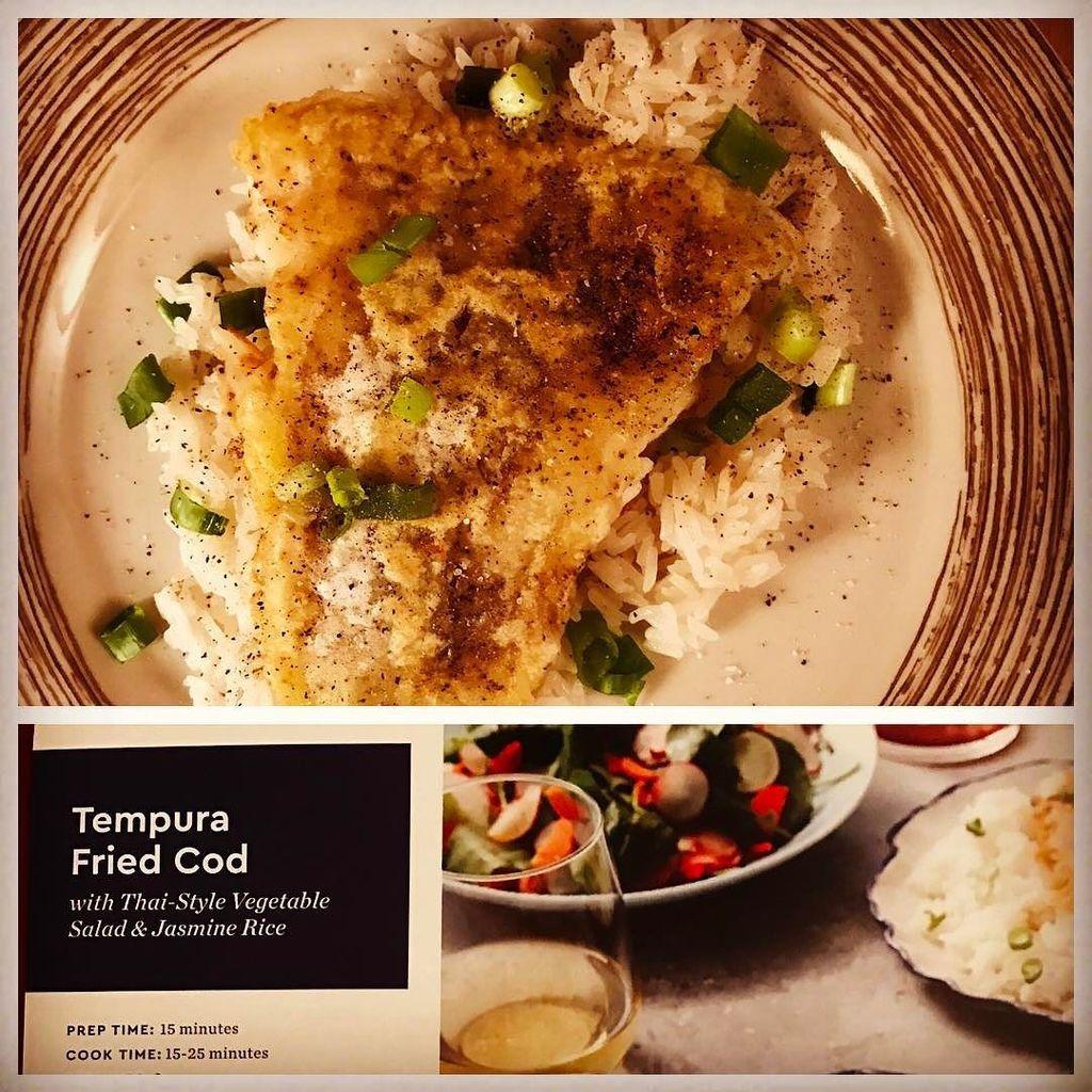 Blue apron tempura cod -  Tempurafriedcod Twitter Search