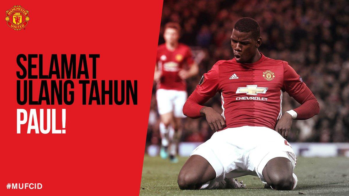 "Manchester United On Twitter ""Selamat Ulang Tahun Untuk"