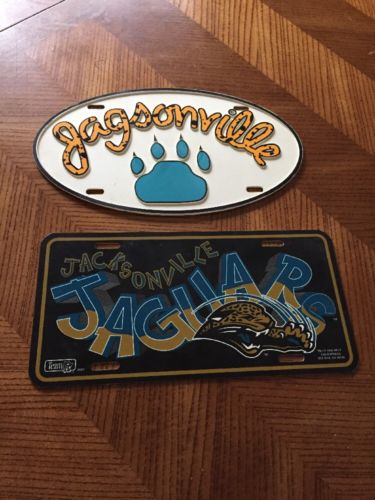 Set Of 2 Jacksonville #Jaguars License Plate  http:// dlvr.it/NdHQmD  &nbsp;   #Buzz #Mall<br>http://pic.twitter.com/6pJ81WFHXC
