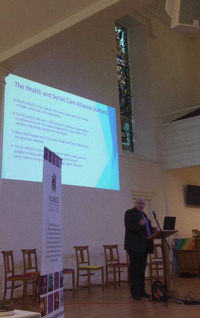 .@IanMWelsh speaks of his desire for integration to match the policy aspirations&outlines @ALLIANCEScot vision #AILIP https://t.co/UlG5RBmvDE