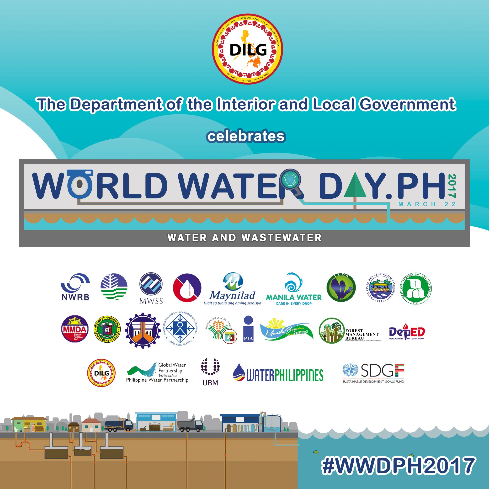 The DILG is one with the nation in celebrating the World Water Day! #WWDPH2017 https://t.co/OoaKGvlNZM