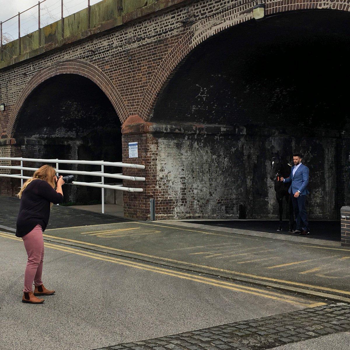 A sneak peek behind the scenes on our #BoodlesMayFest style partners shoot #ChesterRaces https://t.co/ZW2rfki2cc