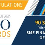 Congratulations Richard Chew @90secondstv! Award sponsored by @Mastercard #NZCFO