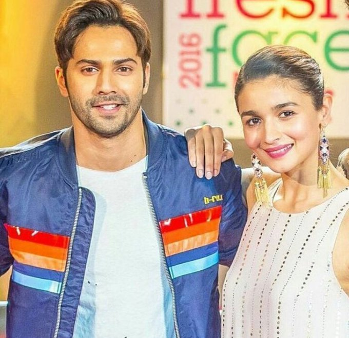 Happy Birthday Alia Bhatt! Many many happy returns of the day :) - From Varun Dhawan and from All Varuniacs.