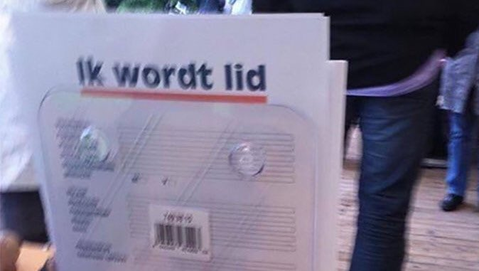 Want ook in Nederland is er nog het nodige werk te doen. T's weghalen