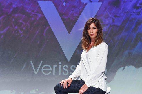 Oggi a Verissimo Simona Ventura, Paola Barale e Francesco Renga