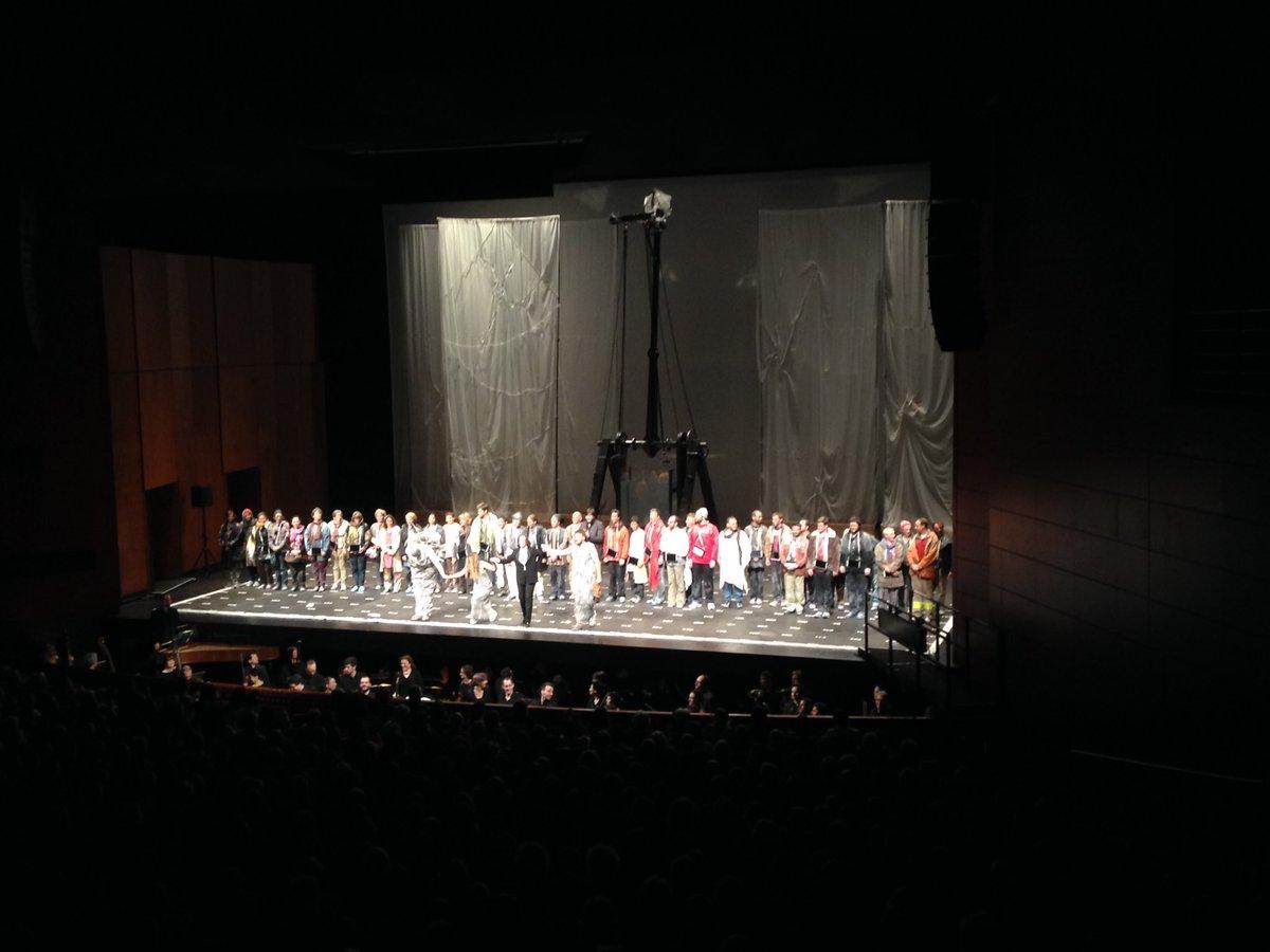 Magnifique, Sublime Création de Haydn hier à Aix ! Avec #accentus #insula orchestra #laurence equilbey #la fura dels baus et les solistes !<br>http://pic.twitter.com/GVe0jvDLWf